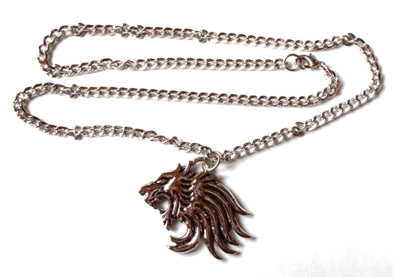 Final fantasy ff squall s lion heart pendant necklace chain cosplay final fantasy ff squalls lion heart pendant necklace chain cosplay aloadofball Images